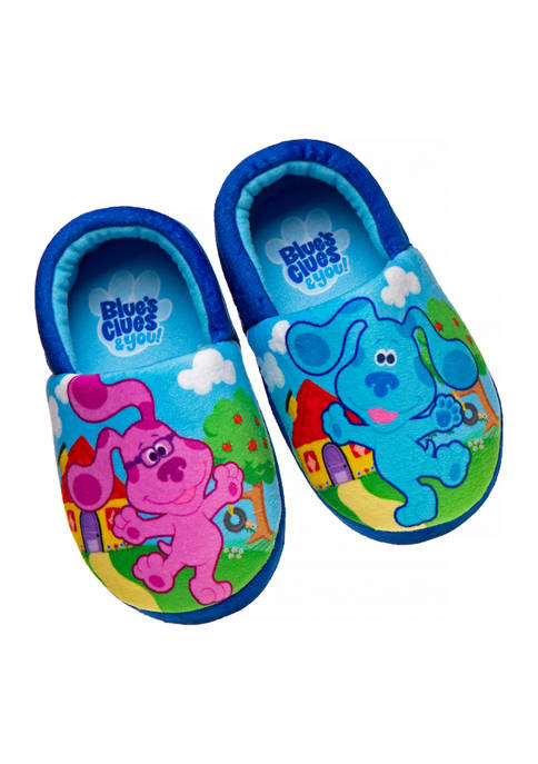 Toddler Neutral Blues Clues Slippers