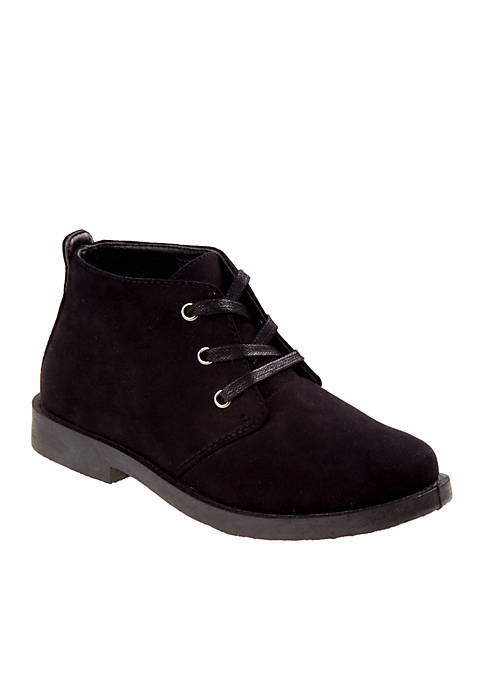 Toddler/ Youth Boys Black Casual Boots