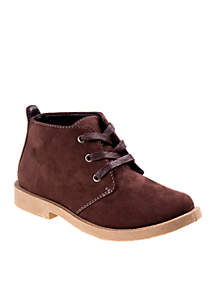 Toddler/ Youth Boys Brown Casual Boots