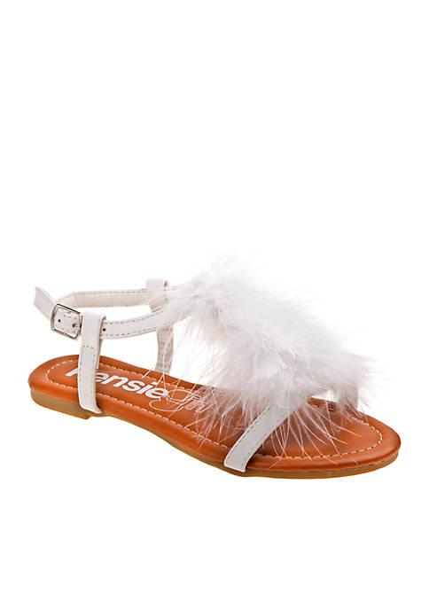 Kensie Girl Girls Plush Sandal