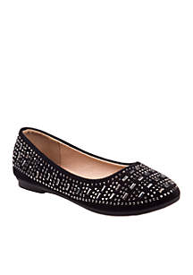 Toddler/ Youth Girls Embellished Ballerina Flat