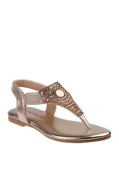 Kensie Girl Youth Girls Open Toe Sandals