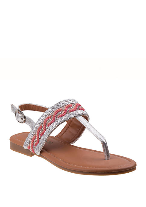 Kensie Girl Youth Girls Open Toe Dressy Sandals