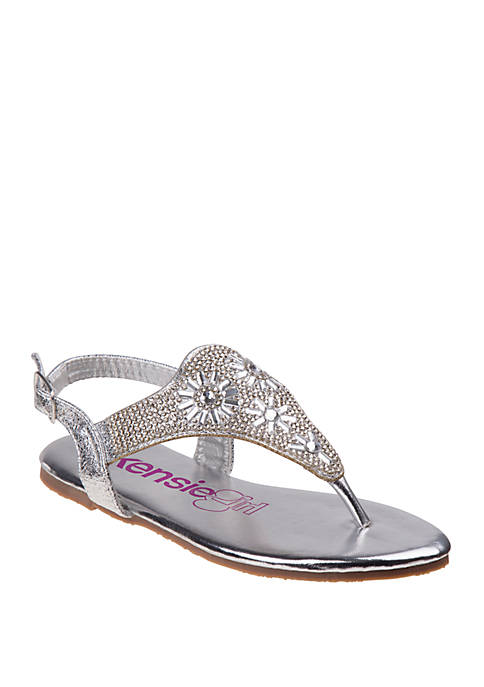 Kensie Girl Youth Girls Open Toe Sandals