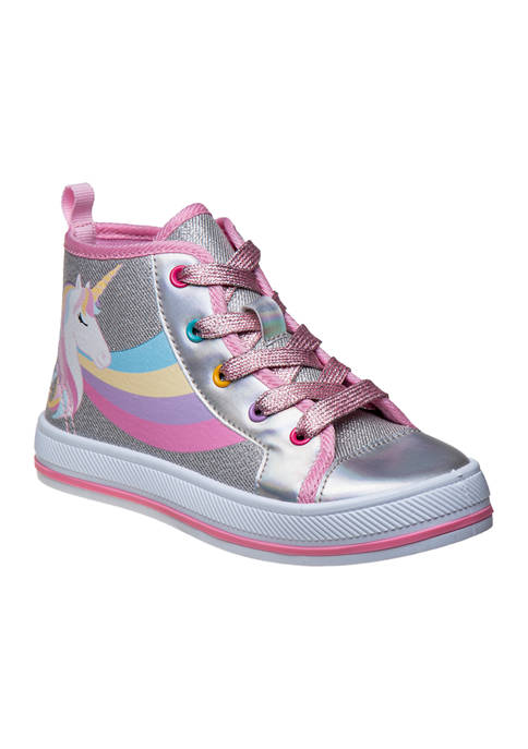 Toddler/Youth Girls Hi-Top Canvas