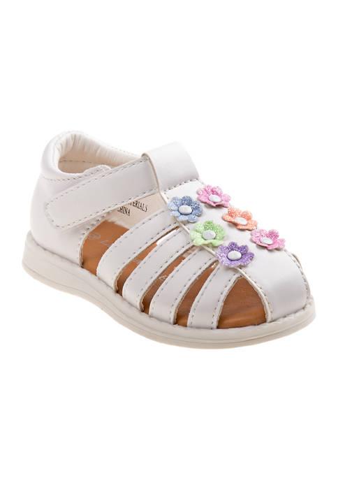 Laura Ashley Toddler Girls Flowers Sandals