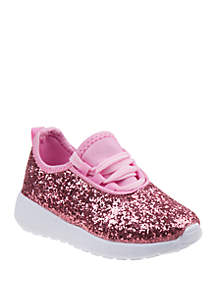 1dd8d550ff26 ... Laura Ashley Toddler/Youth Girls Glitter Sneakers