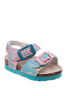 fae295576ac5 ... Laura Ashley Toddler Girls Buckle Sandals