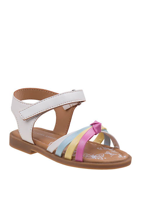 Laura Ashley Toddler Girls Unicorn Sandals