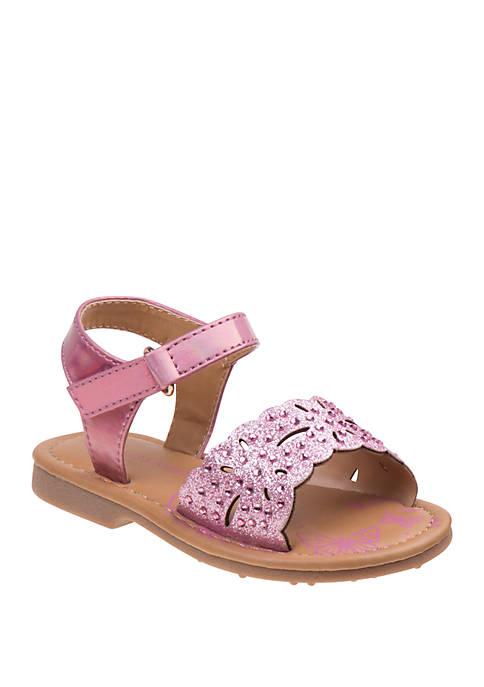 Toddler Girls Chunky Glitter Sandals