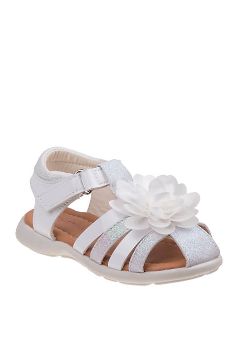 Laura Ashley Toddler/Youth Girls Flower Sandals