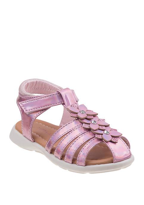 Laura Ashley Toddler/Youth Girls Flower Sandals