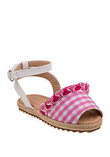 Laura Ashley Toddler/Youth Girls Espadrille Sandals
