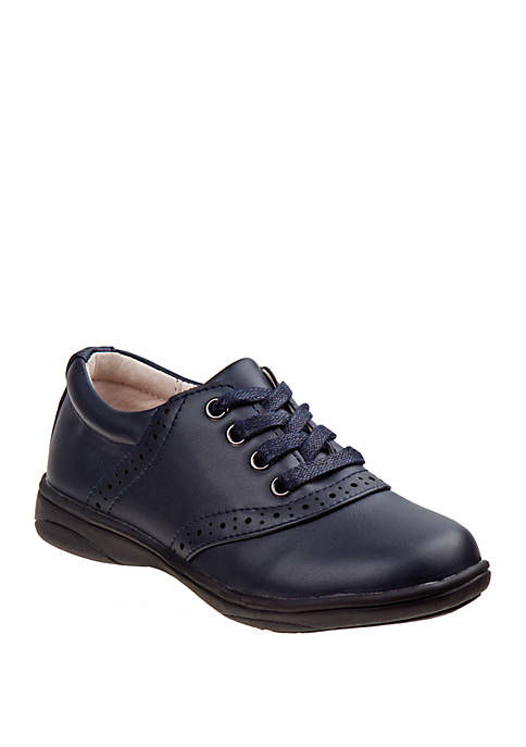 Youth Girls Lace Up Oxford School Shoes