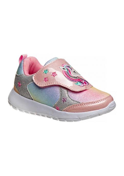 Laura Ashley Toddler Girls Unicorn Sneakers