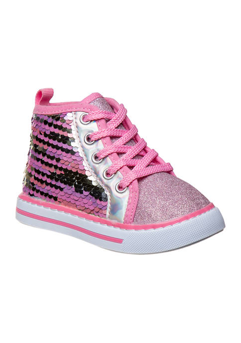 Laura Ashley Toddler Girls High Top Sneakers