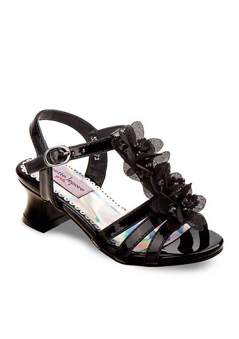 Nanette Lepore Girl Floral Detail Dress Heels