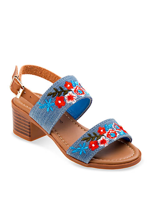 nanette NANETTE LEPORE™ Girls Denim Heel Sandals
