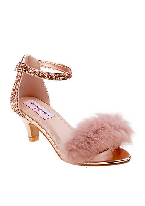 Nanette Lepore Girl Plush Glitter Heel Toddler/Youth Girls