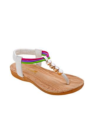 934d495b2005 Josmo Girls Multicolored Thong Sandal - Toddler Youth ...