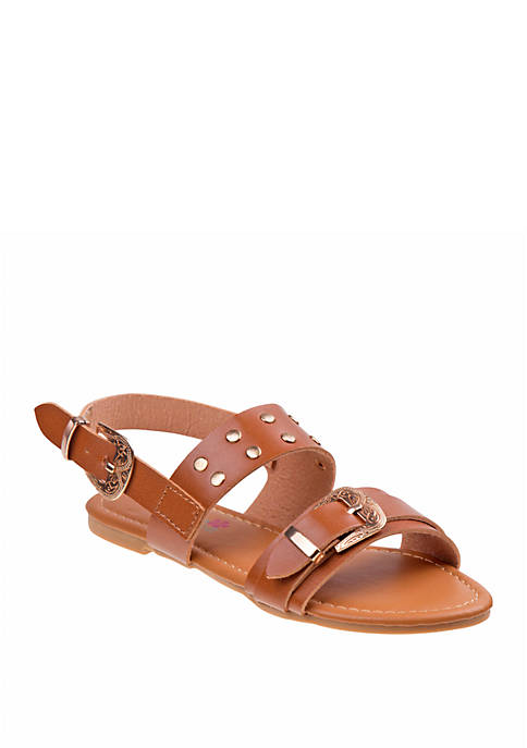 Josmo Youth Girls Petalia Strappy Sandals