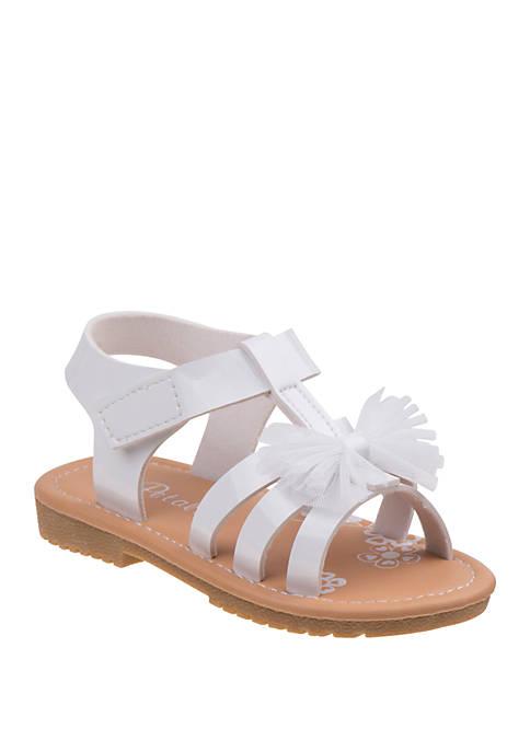 Josmo Toddler/Youth Girls Petalia Patent Sandals