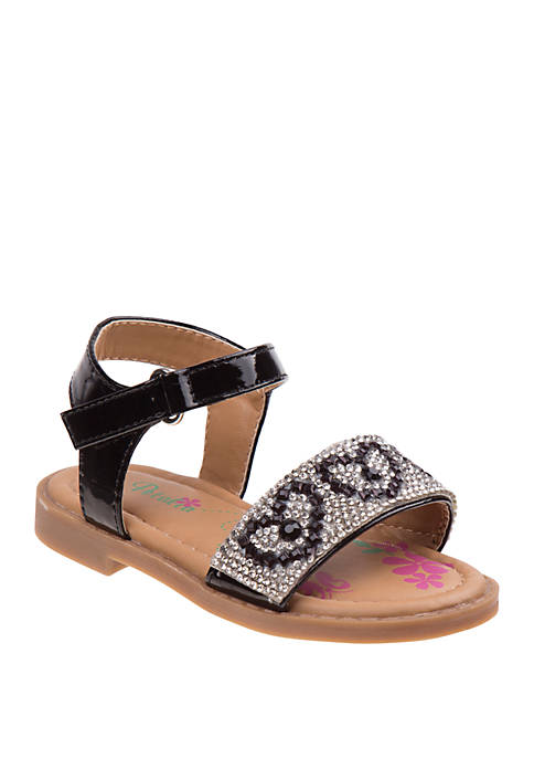 Josmo Toddler Girls Petalia Stone Sandals