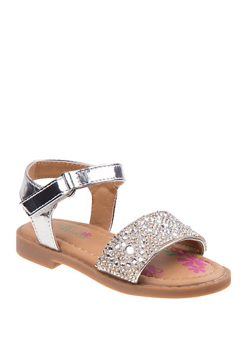 Josmo Toddler Girls Petalia Stone Sandals