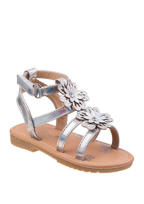 Josmo Toddler/Youth Girls Petalia Flowers Sandals