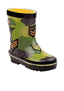Boys Toddler Rugged Bear Rain Boot
