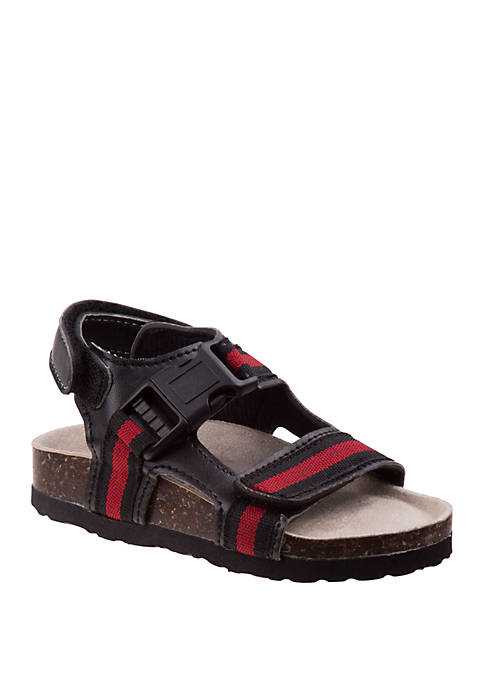 Josmo Toddler/Youth Boys Rugged Bear Strappy Sandals