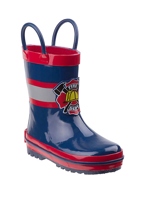 Josmo Youth Boys Joseph Allen Fireman Rain Boots