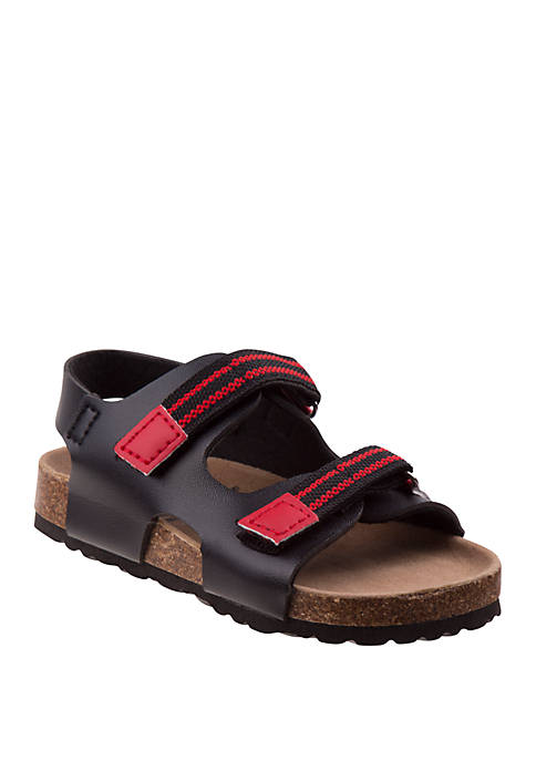 Toddler Boys Rugged Bear Strappy Sandals