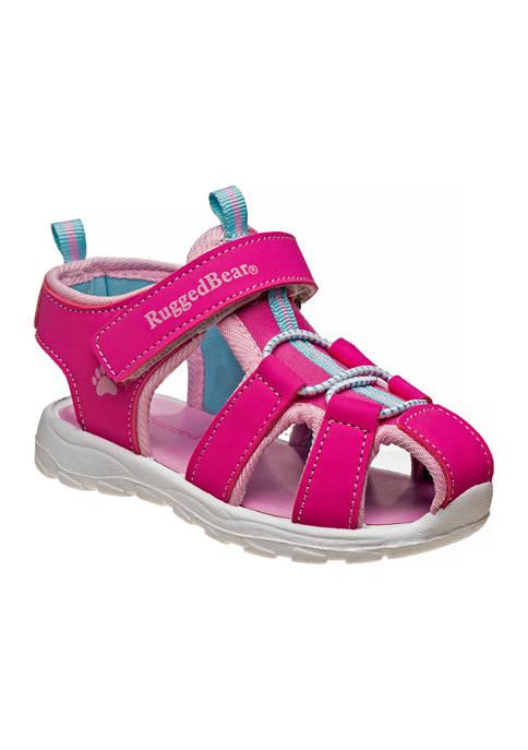 Rugged Bear Toddler Girls Sandals
