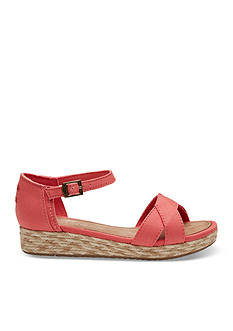 TOMS® Harper Wedges - Girls Youth Sizes