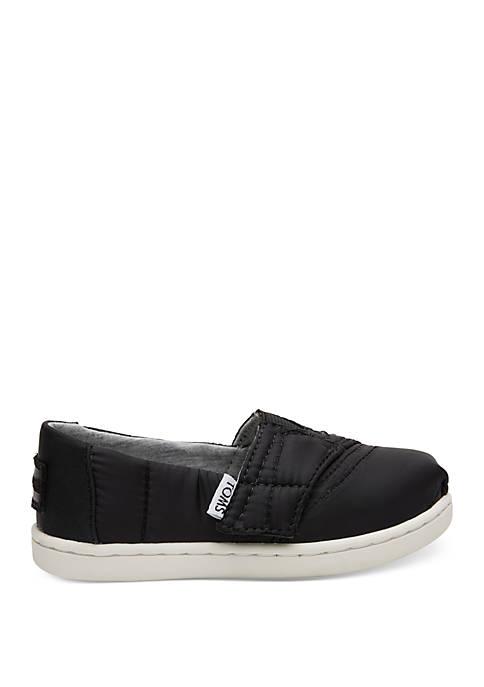 TOMS® Boys Toddler Apargata Sleeping Bag Sneaker Black