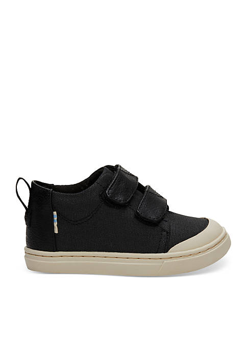 TOMS® Boys Textural Canvas Tiny Lenny Sneakers
