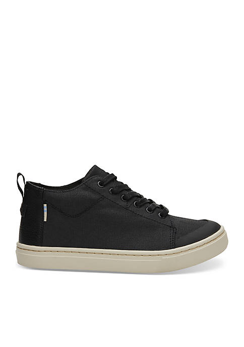 TOMS® Boys Canvas Lenny Mid Sneakers