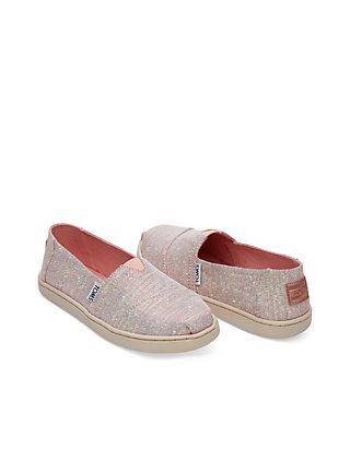 651daaf862e TOMS® Girls 5-12 Alpargata Rose Glimmer Shoes