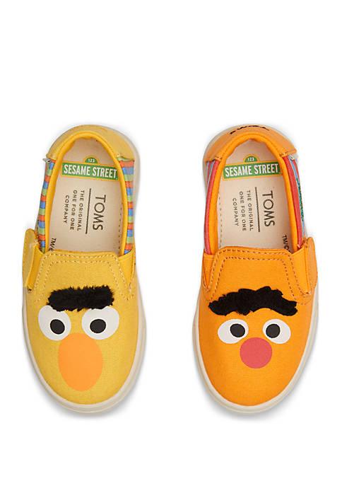 Toddler Boys Luca Bert and Ernie Slip On Sneakers