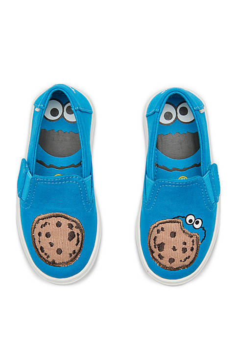 TOMS® Toddler Boys Luca Cookie Monster Slip On