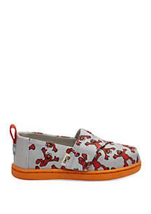 8b7ac137b08 TOMS® Red Crosshatch Classic Wedge Sandals · TOMS® Toddler Boys Alpargata  Sesame Street Flats