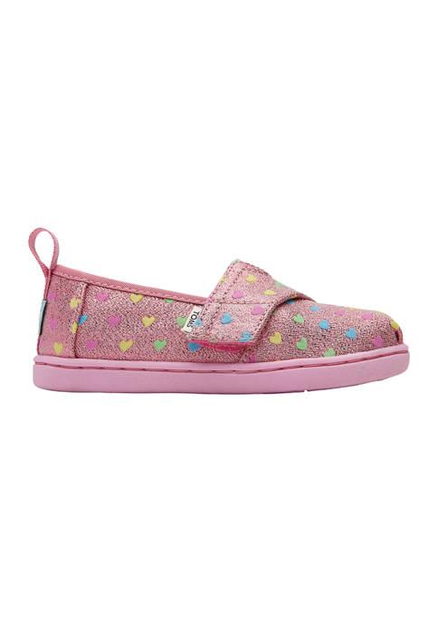 TOMS® Toddler Girls Tiny Alpargata Hearts