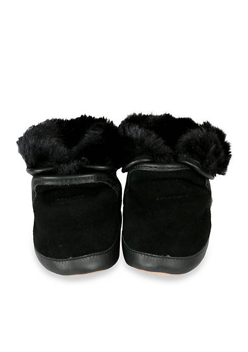 66338213789f Robeez® Cozy Ankle Soft Sole Bootie