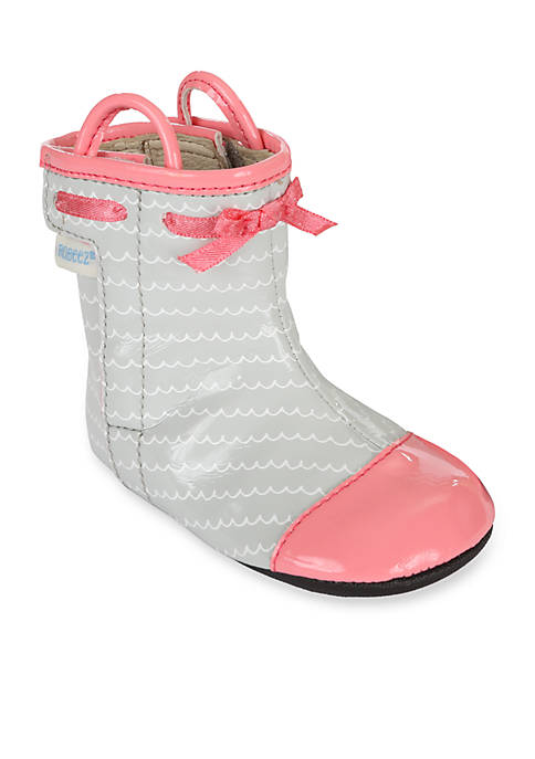 Robeez® Zoey Rainboot Mini Shoe