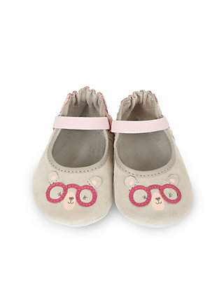 Infant//Toddler Robeez Womens Miss Bear Soft Sole