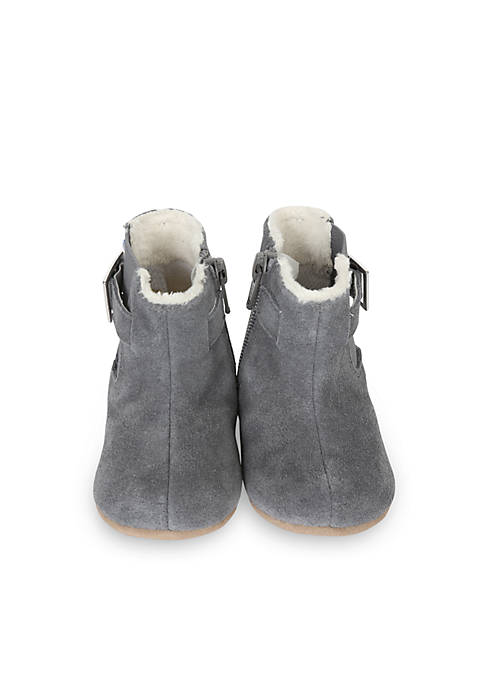 Robeez® Grey Gwen Boot Mini Shoe