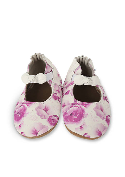 Robeez® Disney Floral Princess Mary Jane Soft Sole
