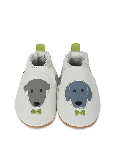 Robeez® Boys Dog Buddies Soft Sole Shoes- Infant/Toddler