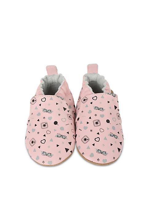 Robeez® Girls GirlyGirl Soft Sole Shoes-Infant/Toddler